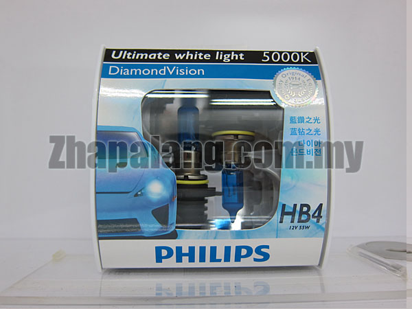 Philips DiamondVision 5000K HB4 9006