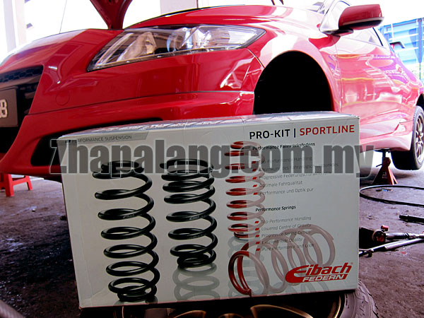 Eibach Pro-Kit for Honda CR-Z 1.5 11+