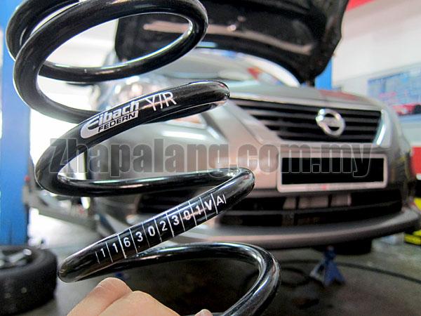 Eibach Prokits Lowered Spring Nissan Almera