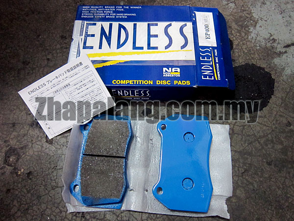 Endless SSS Sport Brake Pads for Honda Brembo Calipers(Z33 & DC5 Front Brembo Type)