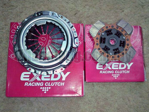 EXEDY Semi Racing Clutch for Honda Civic EP3, FD2, FN2, Type-R DC5, CL7 - K20A