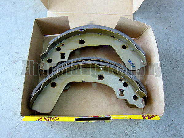 FBK Brake/Bonded Shoes for Suzuki Swift '05-