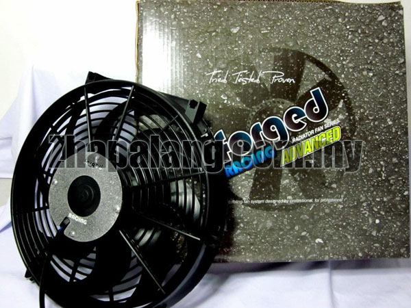 Forged Racing Advanced High Speed Radiator Cooling Fan 12""