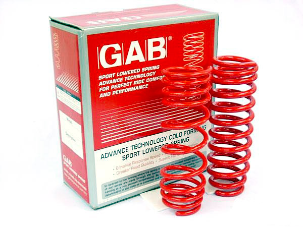 GAB SP Series Cold Sport Lowered Spring Honda ACCORD CF1 / S84 '01-'02