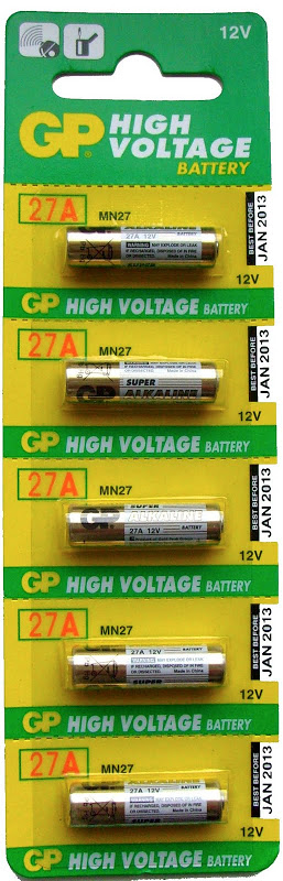 GP Miniature 27A Alkaline Batteries