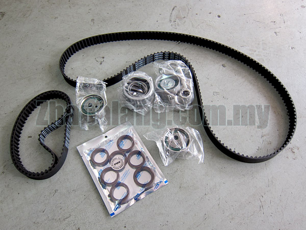 Gates PowerGrip® Timing Belt Kit for Naza Ria/Kia Carnival K5 2.5 V6