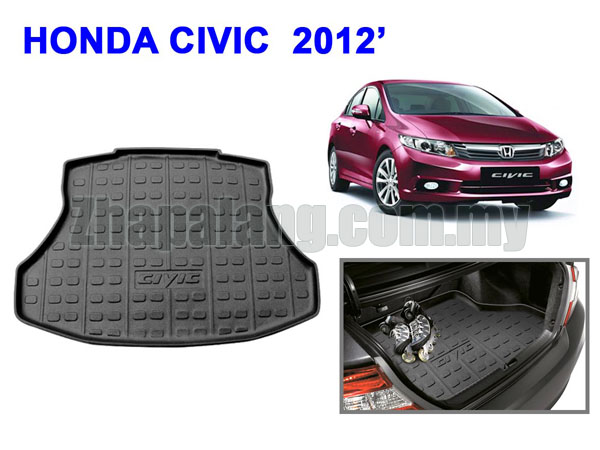 HC-Cargo Boot Tray for Honda Civic FB '2012