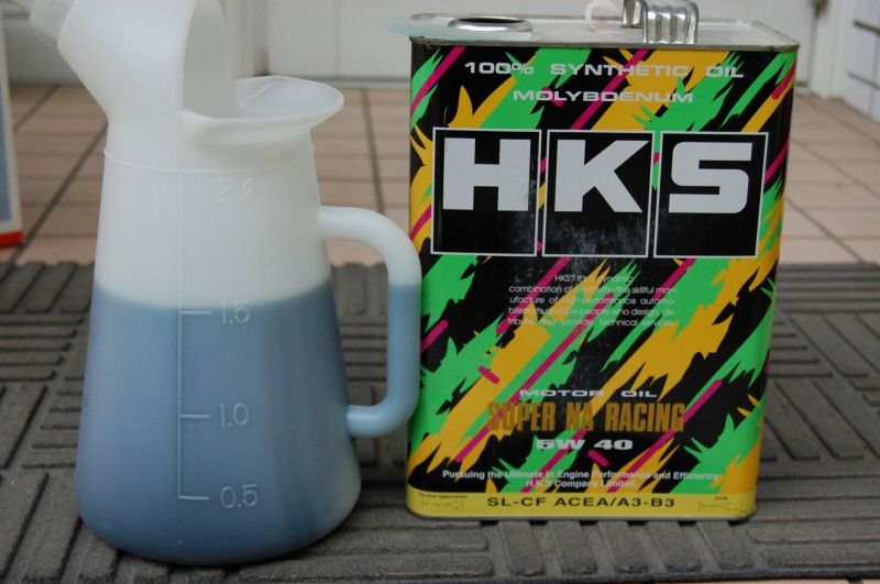HKS NA RACING Fully Synthetic Engine Oil 5w40 4L