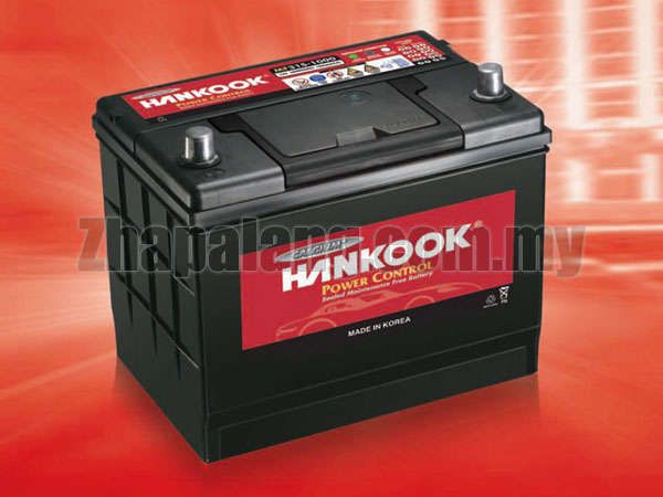 Hankook Power Control Calcium Maintenance Free(MF) Battery NS60L(Small)