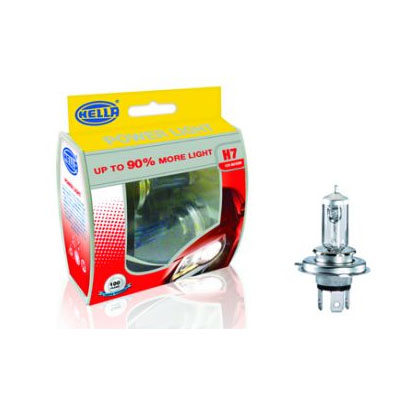 Hella H7 12V 55W POWER LIGHT + 50%