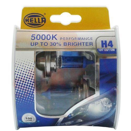 Hella H1 12V 100W WHITE DAYLIGHT 5000K + 30%