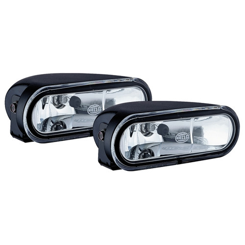 Hella FF 75 Halogen Driving Auxiliary Lamp Kit(Clear)