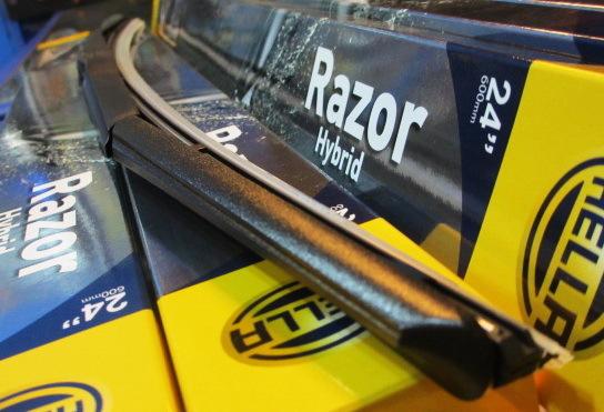 "Hella Razor Hybrid Wiper Blade(3rd Generation) - 14"""