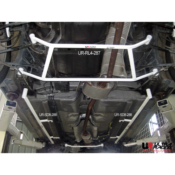Honda Accord CM5 (2005) Rear Lower Bar