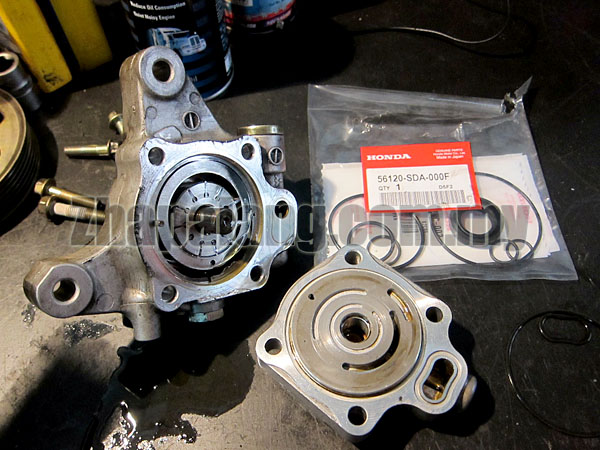Honda OEM Power Steering Pump Reseal/Rebuild Kit for Accord SDA'03-08 56120-SDA-000F