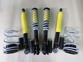 [December Super Deal]Hot Bits Fully Adjustable Performance Coilover with Canister for Perodua Myvi
