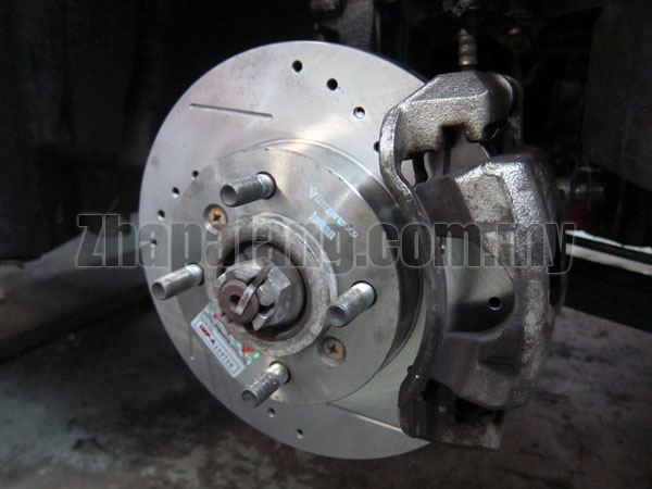 IMP Performance Front Brake Disc(Slotted/Drilled) for Perodua Alza