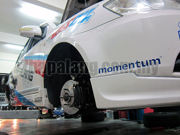 IMP Performance Front Brake Disc(Slotted/Drilled) for Proton Saga BLM