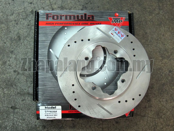 IMP Performance Front Brake Disc(Slotted/Drilled) for Honda Accord SM4