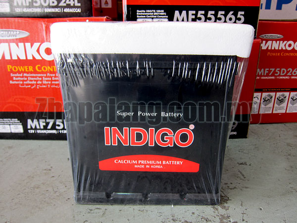 INDIGO Calcium Maintenance Free Battery DIN45(Original Battery for Kia Forte, Rio)