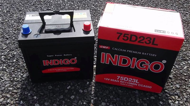 INDIGO Calcium Maintenance Free Battery 105D-31L/NX120-7L(Original Kia Pregio Battery)