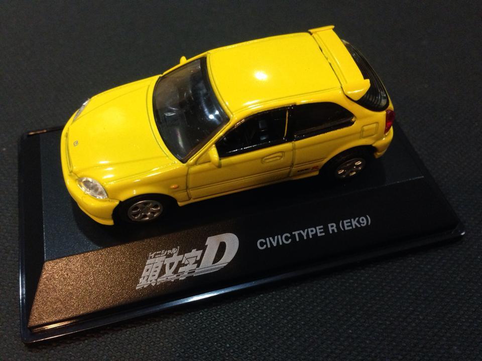 [1:72]Initial-D Honda Civic Type-R EK9