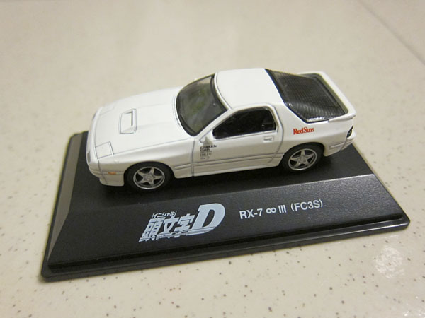 [1:72]Initial-D Mazda RX-7 Type R (FC3S)