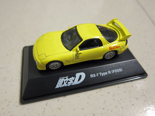 [1:72]Initial-D Mazda RX-7 Type R (FD3S)
