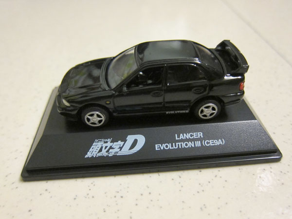 [1:72]Initial-D Mitsubishi Lancer Evolution III(CE9A)