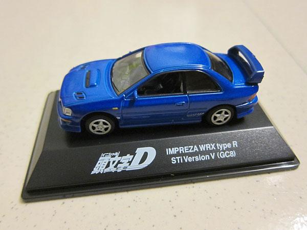 [1:72]Initial-D Subaru Impreza WRX Type-R STi Version V(GC8)