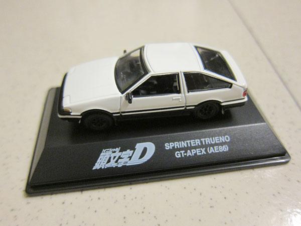 [1:72]Initial-D Toyota Sprinter Trueno GT-Apex(AE86)