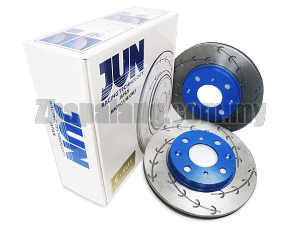 JUN E-Slit High Performance Disc Brake Rotor for MITSUBISHI LANCER EVO 9 2.0L