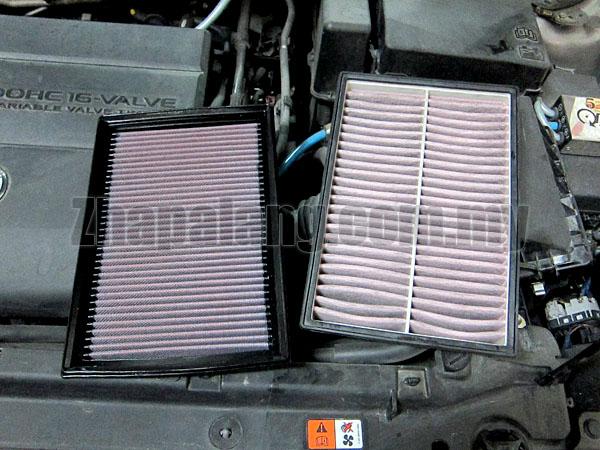 K&N Drop In Filter Mazda Mazda 3 '2007-ON 33-2293