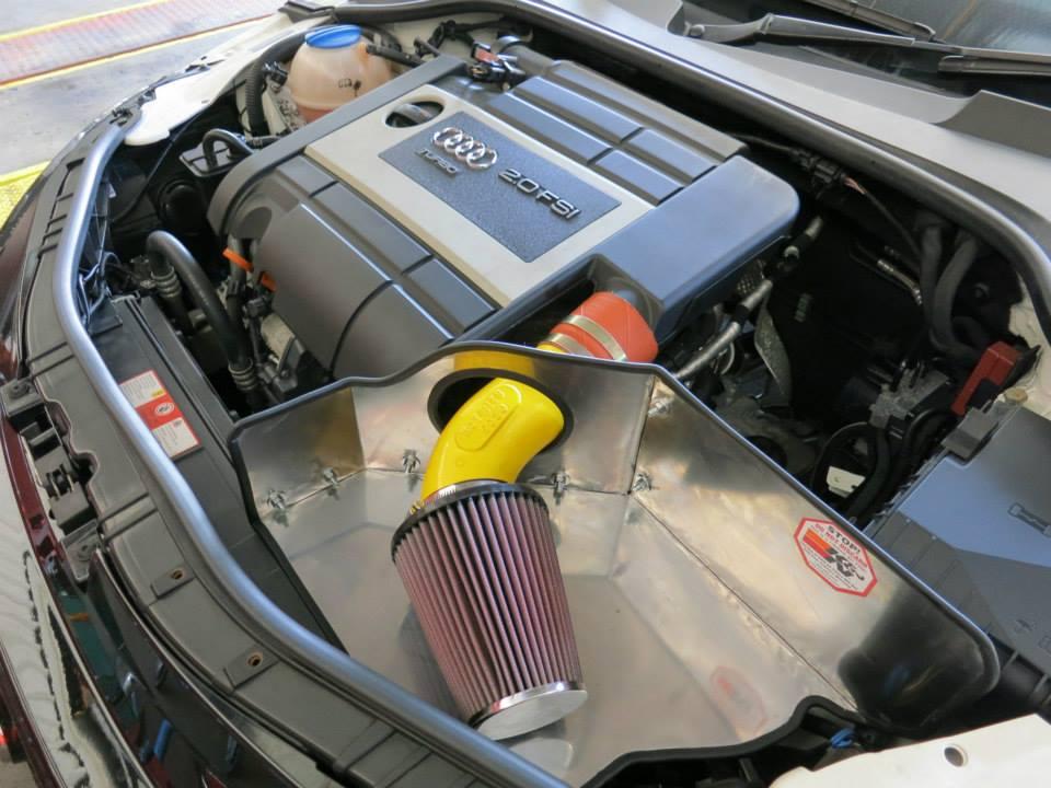 K&N Open Pod Kit Audi TT Mk2