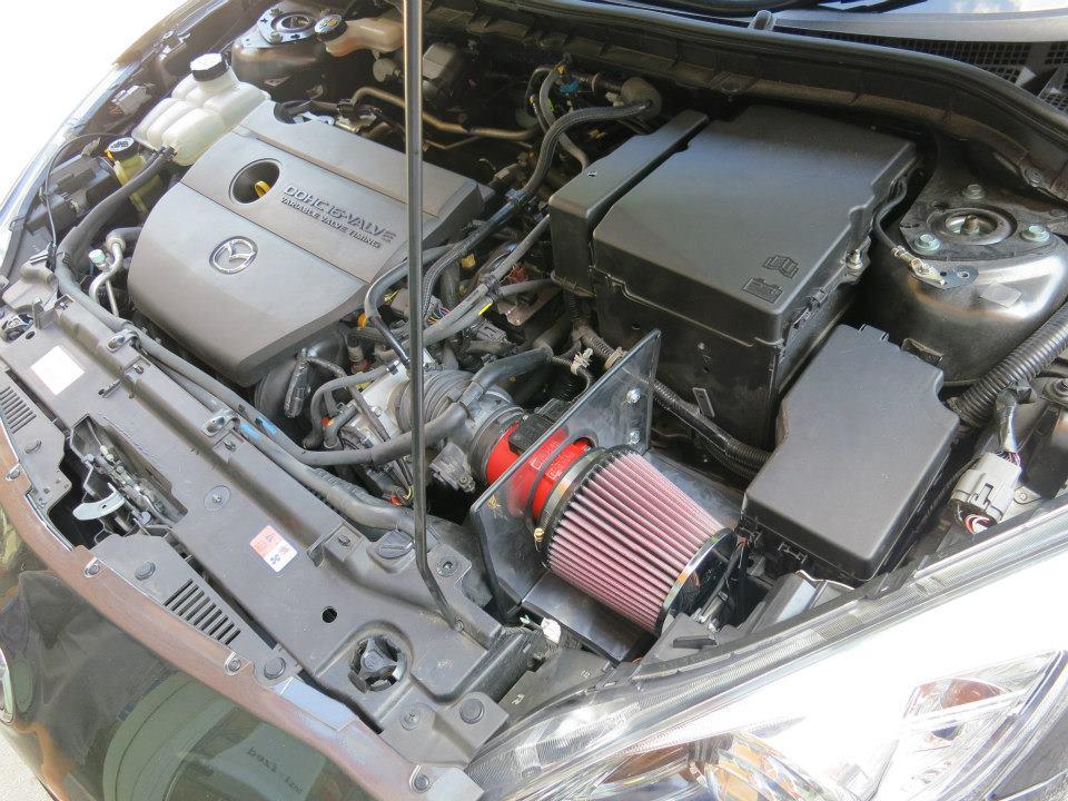 K&N Open Pod Kit Mazda 3 2.0