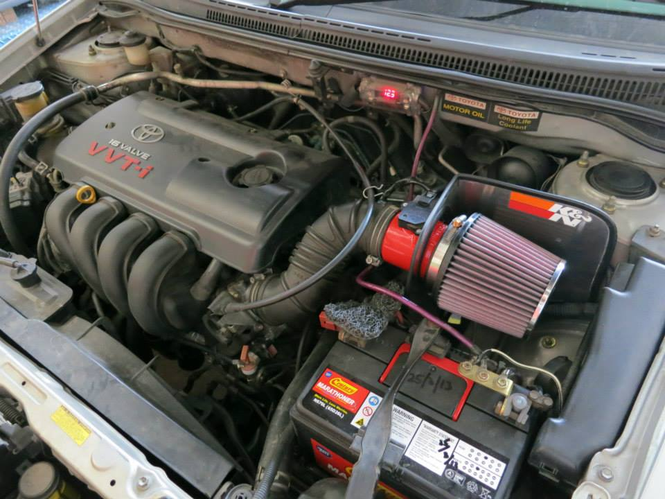 K&N Open Pod Kit Toyota Altis