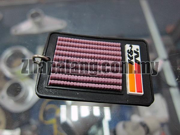 K&N Mini Air Intake Keychain