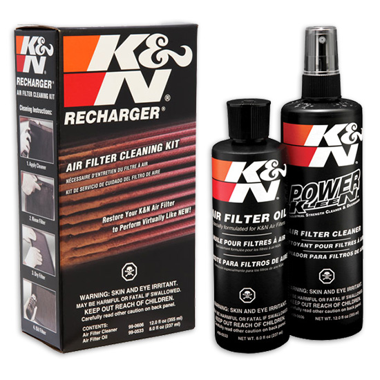 K&N Recharger® Air Filter Cleaner Kit(Squeeze Oil Bottle)