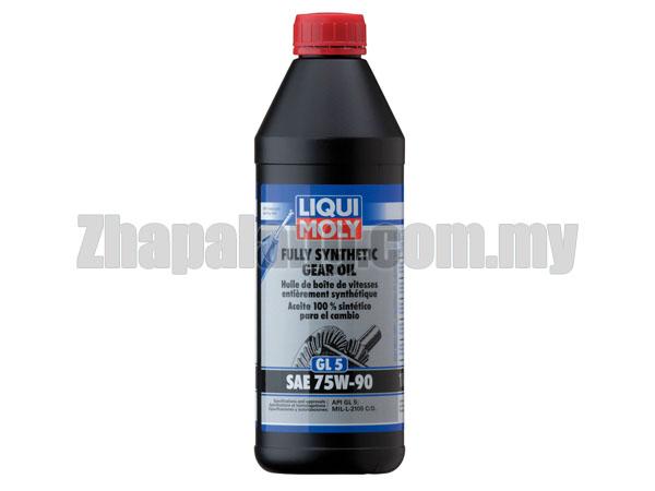 LIQUI MOLY FULLY SYNTHETIC GEAR OIL (GL 5) SAE 75W 90 - 1L