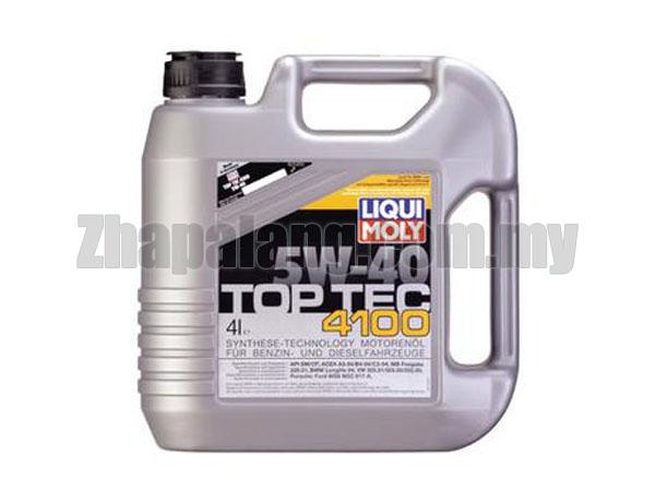 LIQUI MOLY TOP TEC 4100 5W-40 - 4L