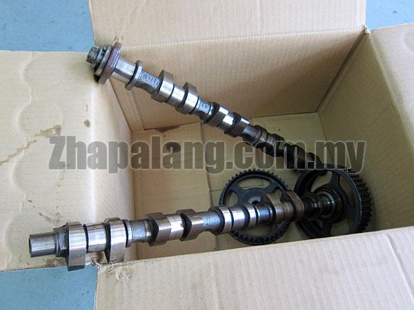 [Used]Matspeed Highcam 266/260 Intake 266 Exhaust 260