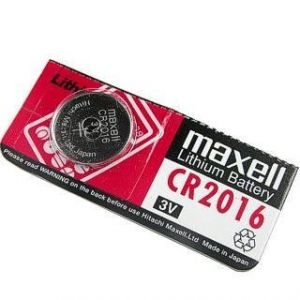 Maxell Cr2016 3V Lithium Button Cell Battery