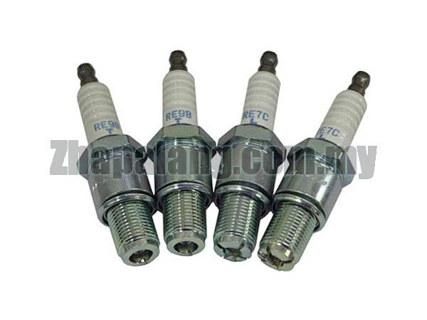 Mazda RX8 Genuine NGK Laser Iridium IR SPARK PLUGS (2 x RE7C-L & 2 x RE9B-T)