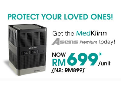 Medklinn Asens Premium Portable Air Steriliser - Image 1