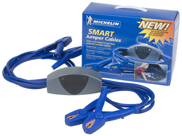 Michelin Smart Jumper Cables with Surge Protection