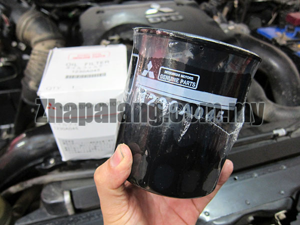 Original Mitsubishi Triton/L200 2.5 Oil Filter 1230A045