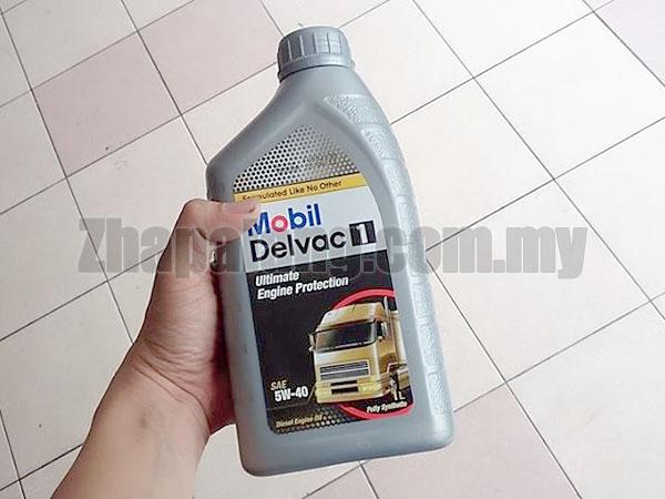 "Mobil Delvac 1â""¢ 5W-40 1L"