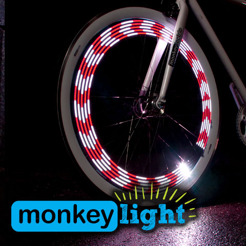 MonkeyLectric M210 8Bit Mini Monkey Light 10 LED Wheel Light