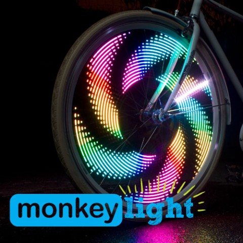 Monkey Light M232 Bike Light 32 Full Color LEDs 42 Patterns