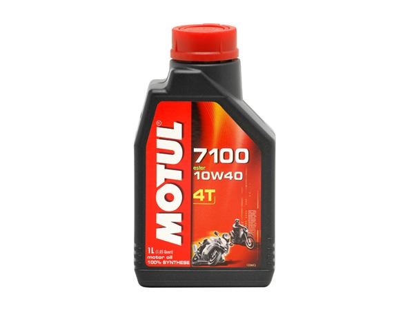 Motul 7100 4T Ester 10w40 Fully Synthetic Oil 1L